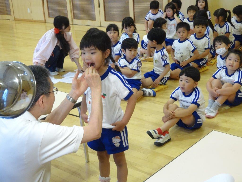 幼稚園児内科検診