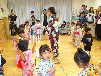納涼大会盆踊り