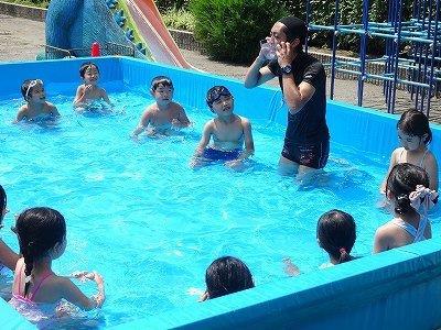 プール遊び(水遊び)